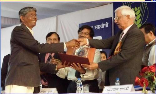 Awarded by Indian Agricultural Institute