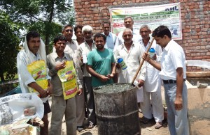 We not only selling products,also giving training to farmers,so that they can prepare his o