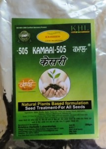 Seed Treatment with Natural p