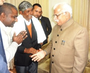 Discussion with Chief Minister,Haryana